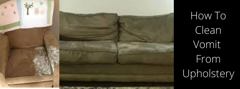How to Clean Vomit from Upholstery
